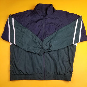 Vinitage R & Y Sport Color Block Windbreaker Jacket Mens XL