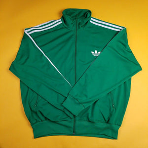 Vibrant Green adidas Track Jacket (Trey Foil) Mens 2XL