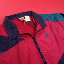 Load image into Gallery viewer, Vintage 80s Nike Navy MultiColored Anorak Mens sz L