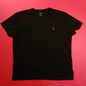Black Polo Shirt Mens sz L