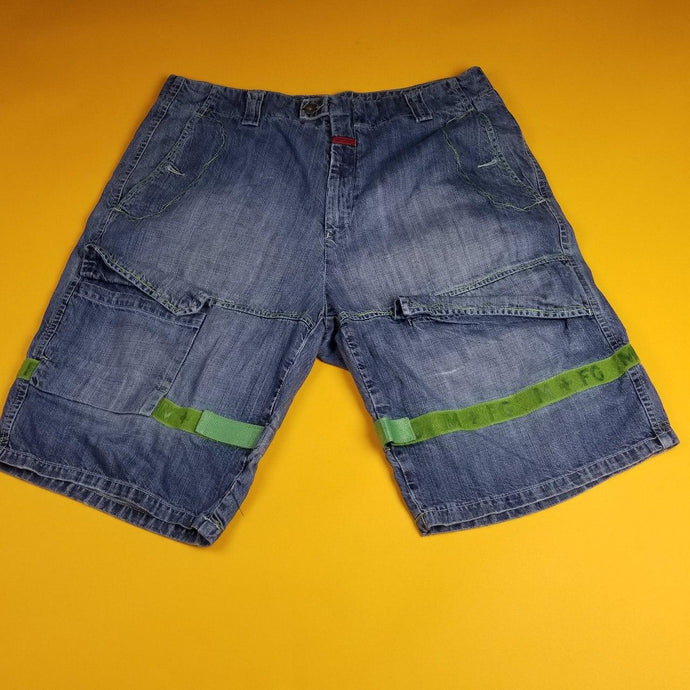 Vintage Marithe Francois Girbaud Jean Shorts Made in USA sz 40W