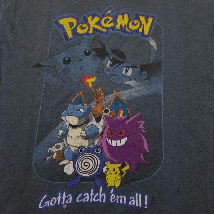 Vintage 90s Pokemon Nintendo t shirt!  Womens sz M Kids XL