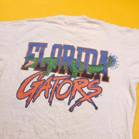 Vintage Made in USA Florida Gators Pocket Tee Shirt Mens sz M