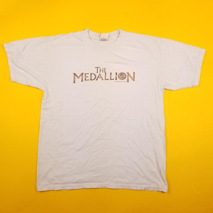 Vintage 2003 Jackie Chan The Medallion Movie Promo t shirt
