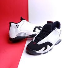 Load image into Gallery viewer, Air Jordan 14 Retro BG 'Black Toe' 2014 sneakers 7y