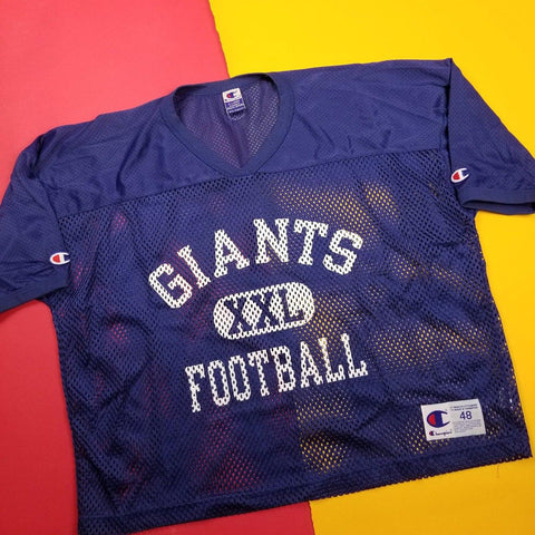Vintage Champion New York Giants Mesh Practice Jersey Mens sz XL