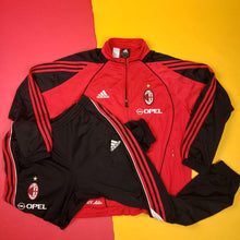 Load image into Gallery viewer, Y2k Adidas x Opel AC Milan 1 star home track suit Mens sz M
