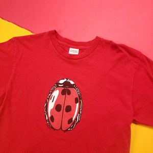 Supreme Spring/Summer 18 Red Lady Bug Tee Shirt Mens sz Medium