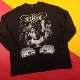 Vintage 90s Tupac Graphic L/s T-Shirt Mens sz 3XL