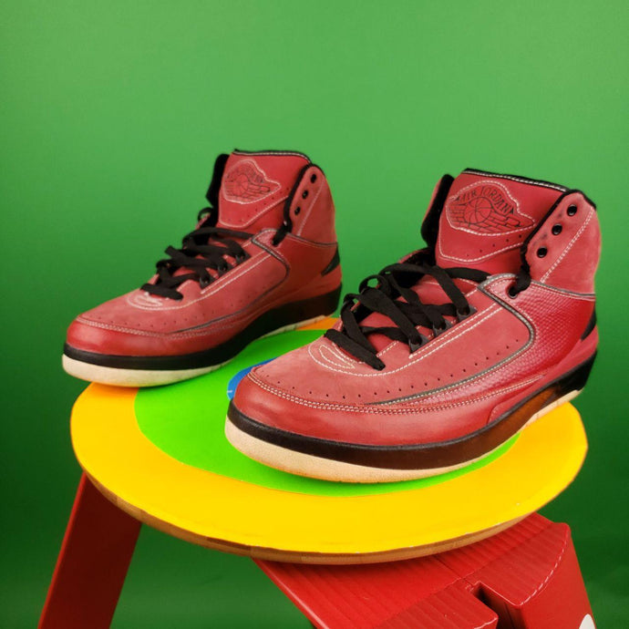 Air Jordan 2 Retro QF 'Candy Red' Mens sz 10