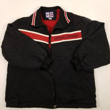 Load image into Gallery viewer, Vintage 90s Game Day TB Buccaneers Black Jacket Mens sz M
