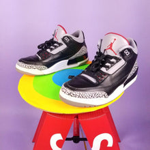 Load image into Gallery viewer, Air Jordan 3 Retro 'Cement' 2011 Mens sz 9.5