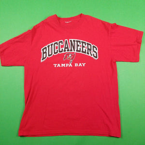 Tampa Bay Buccaneers NFL Red T-Shirt Mens sz L