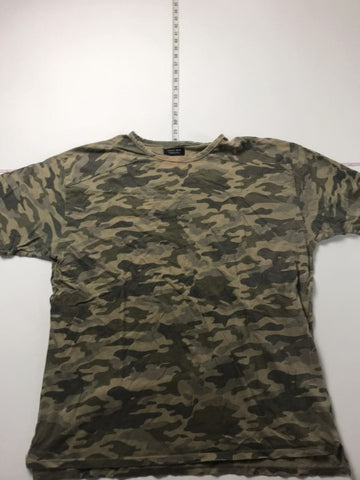 Zara Man Camo Print T-Shirt mens sz XL
