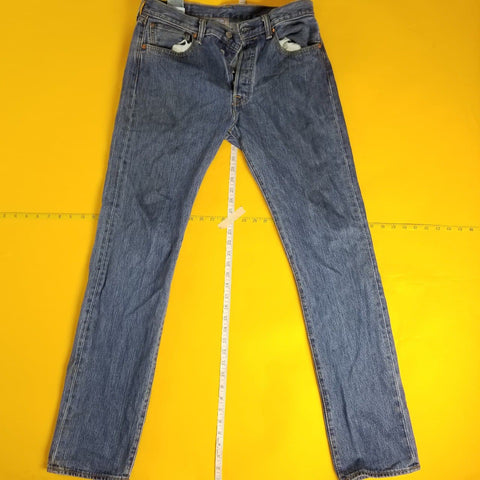 Y2K Levi Blue Denim Jeans Mens sz 32X36