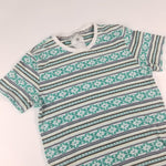 On the Byas Abstract Patterned T-Shirt Mens sz S