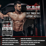 Keto Kick BHB Exogenous Ketones with Breakthrough BHB Salt Complex - Keto Diet Supplement to Aid Ketosis, Weight Loss & Fat Burn for Energy