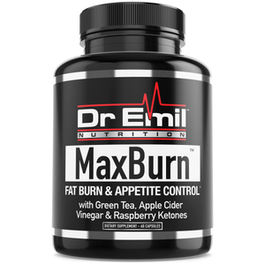 MaxBurn Thermogenic Fat Burner for Men & Women - Weight Loss Supplement, Metabolism Booster & Appetite Suppressant (60 Capsules)