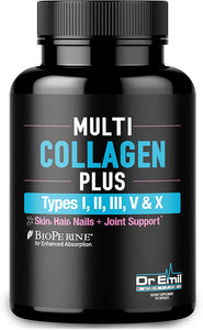 Multi Collagen Pills (Types I, II, III, V & X)