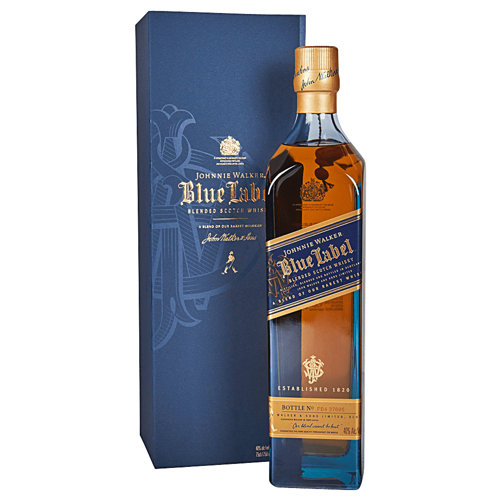 JOHNNIE WALKER BLUE 750ML - winesnip