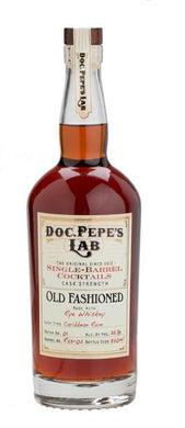 DOC PEPE'S LAB  BARREL FINISHED OLD FASHIONED - winesnip
