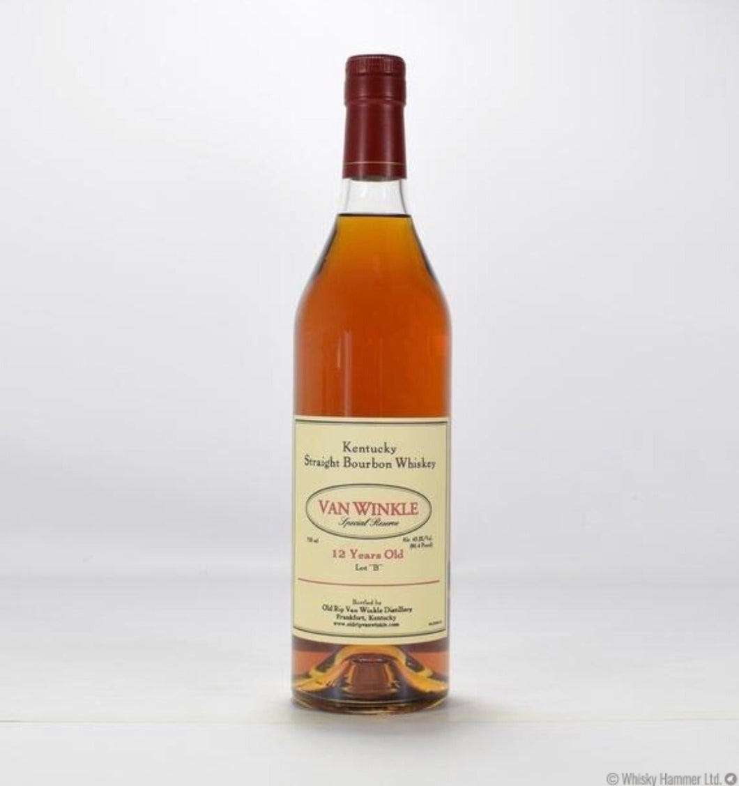 Pappy Van Winkle 12 Year Old Bourbon - winesnip