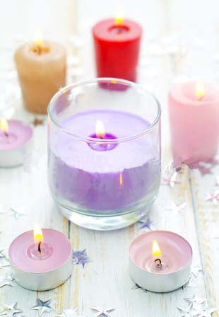 How to work out fragrance load when making candles