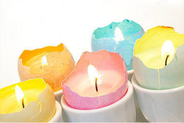 How to make egg shell tealights