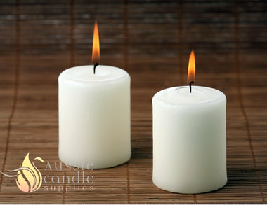 How to make a paraffin pillar candle