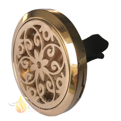 (Rose Gold) Daisy Car Diffuser