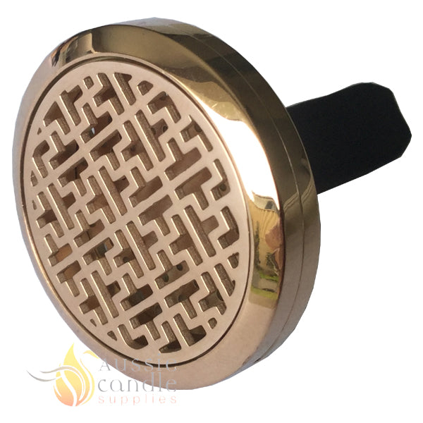 (Rose Gold) Maze Car Diffuser