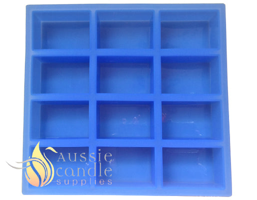 12-cavity rectangle soap mould