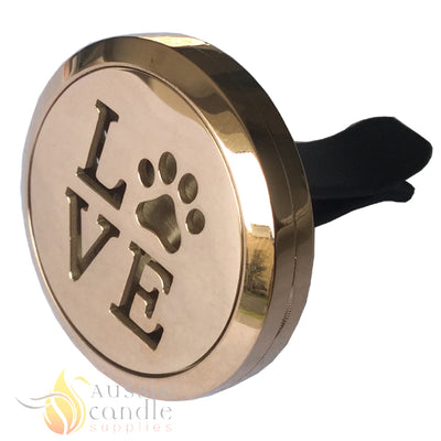 (Rose Gold)Love Paws Diffuser
