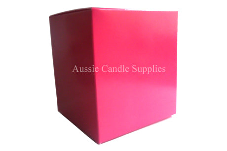 Magenta Pillar Candle Box