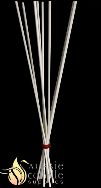 White Fibre Reed Sticks 3mm