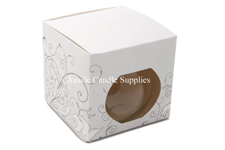 White Pattern Bulb Box 255gm