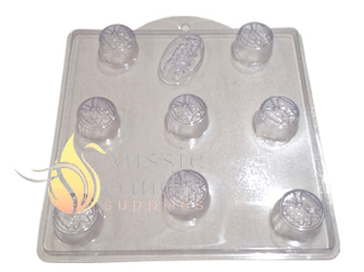 Butterfly Tart Soap Mould