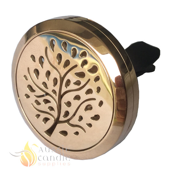 (Rose Gold) Tree Car Diffuser