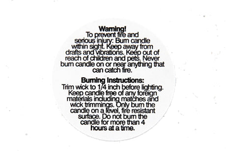 Warning Labels 3cm