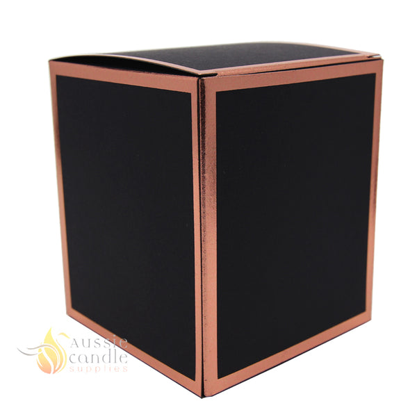 Cambridge Black Rose Gold Box