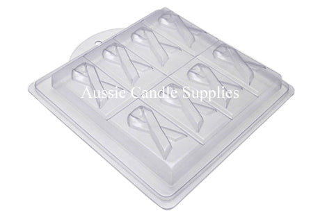 Pink Ribbon Tray Soap Mould