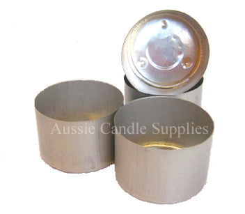 Aluminium 9 hr Tealight Cups