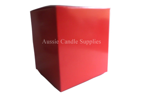 Red Pillar Candle Box