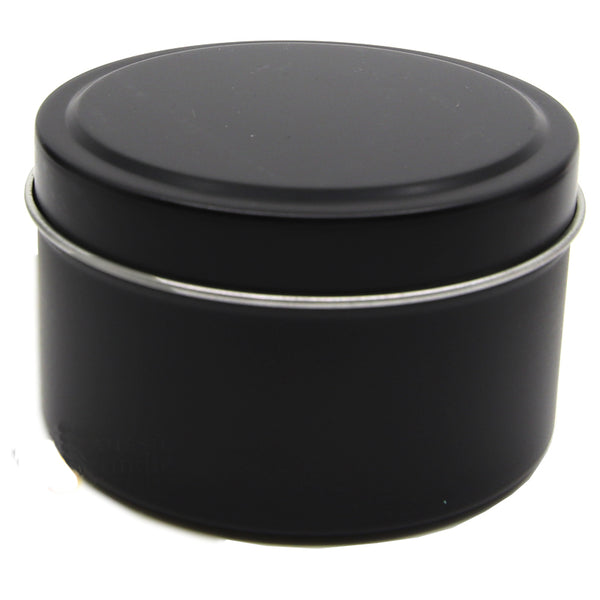 Candle Tin Matt Black 170gm