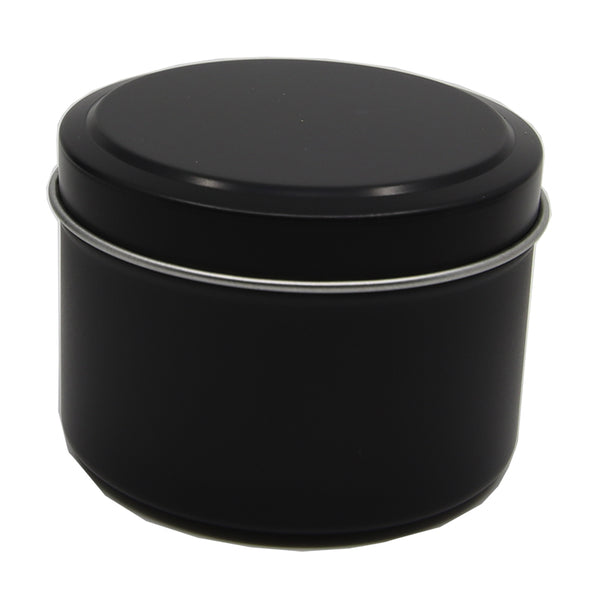 Candle Tin Matt Black 225gm