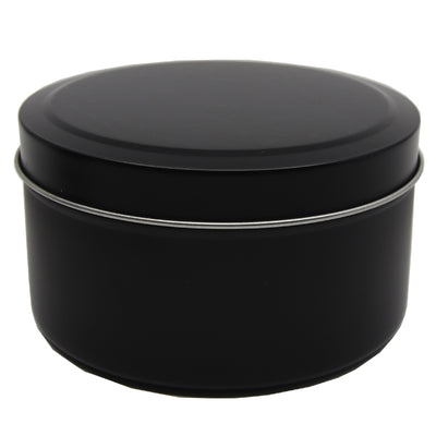 Candle Tin Matt Black 283gm
