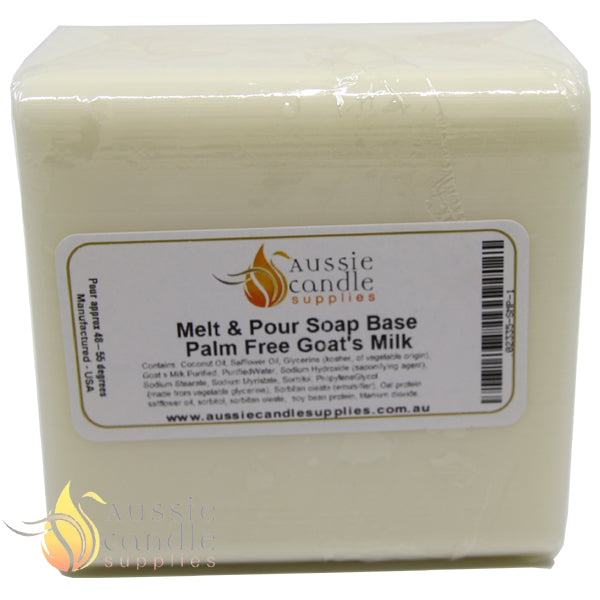 Palm Free Goats Milk Soap