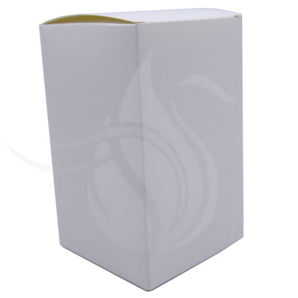 Matt White Tear Drop Box