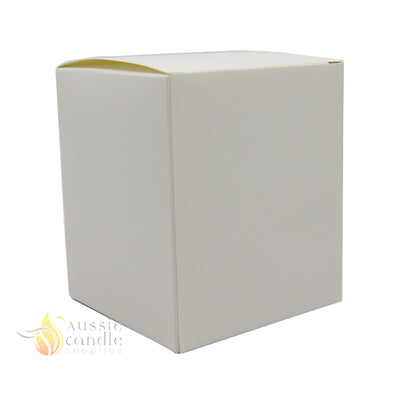 Large Monaco Matt White Box