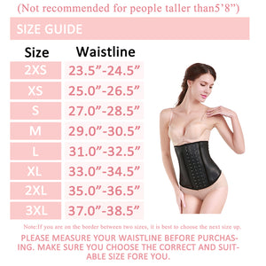 ANN DARLING Women's Colored Latex Sport Girdle Waist Trainer Corsets PURPLE